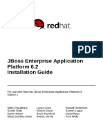 JBoss Enterprise Application Platform 6.2 Installation Guide en US