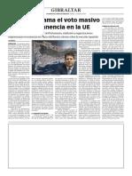 161415 La Verdad CG- Picardo Reclama El Voto Masivo Por La Permanencia en La UE p.8