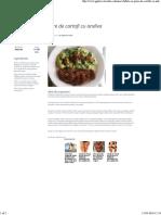 Chiftele Si Piure de Cartofi Cu Andiva Verde