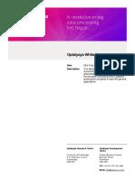 Optalysys White Paper