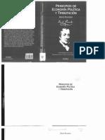 Ricardo David - Principios de Economía Politica y Tributacion