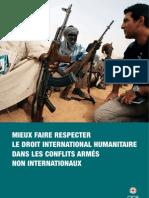 Mieux faire respecter le droit international humanitaire dans les conflits armés non internationaux