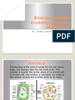 biology project  1