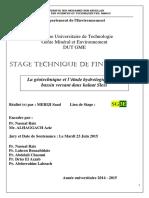 La Geotechnique Et l'Etude Hyd - MERIJI Saad_3028