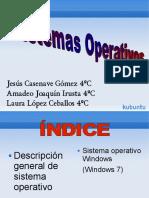 Presentación de sistemas operativos