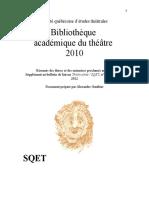 Biblio Acad 2010