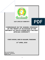 12 April 2016 - Final Comunique of the Signing of the Treaty of Accession of the Rss Into the Eac