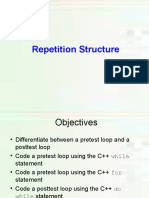 Repetition While Loop