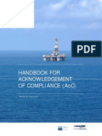 Handbook for Acknowledgement Compliance (AoC)