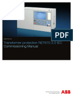 1MRK504140-UEN en Commissioning Manual Transformer Protection RET670 2.0 IEC