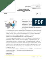 Ficha de Avaliação Nº 20-Equipamento Do Operador de Caixa - Modulo 4