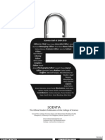 Scientia Issue 4 (AY 2009-2010)
