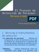 El proceso de selección de personal AF