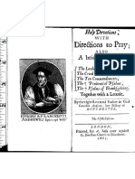 Launcelot Andrewes-Holy Devotions With Directions to Pray