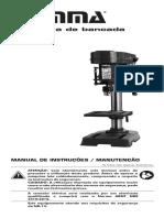 1380198570 1680br Manual Furadeira de Bancada 13mm