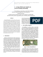 NetFPGA. an Open Platform for Gigabit-rate Network Switching and Routing