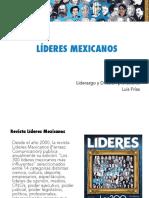 Liderazgo y difusión - Líderes Mexicanos