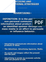 Advertising and Promotional Strategies