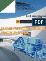Linea de Productos y Servicios - Clientes - Milpo