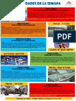 Actividades de la Escuela de Español 18 - 24 Abril