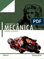Fundamentos da Mecânica - Renato Brito Vol.1