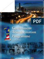 Government Transformation Programme(GTP) Roadmap