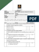 MB0040 Statistics for Management {e Slm} - De