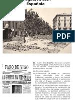 Etapas y Contexto Posguerra Civil Española