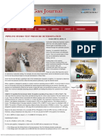 Pipeline Hydro Test Pressure Determination _ Pipeline & Gas Journal