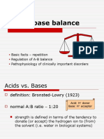 acid base ballance