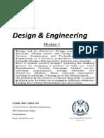 Design and Engineering KTU Module-1
