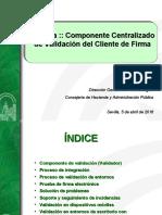 20160405-Componente Centralizado de Validacion Cliente v02r04