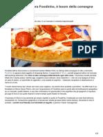 La Spagna compra Foodinho