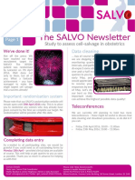 SALVO Newsletter April 2016