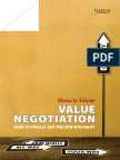 Intro of Value Negotiation How to Finally Get the WIn Win Right