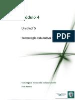 Tecnología Educativa y Didáctica