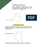 Teorema de Poncelet