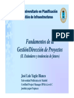 Gestion proyectos Pmp