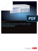 Techical Manual ABB REL650 1.3 ANSI