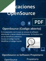 Aplicaciones Open Source
