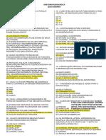 Questionario Anatomia Radiologica