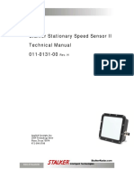 Stalker Stationary Speed Sensor II Technical Manual