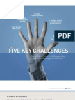 5 Key Challenges - Europe has to meet its challenges today to play at its full strength in the future