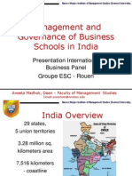 06 Management & Governance of Business Schools in India