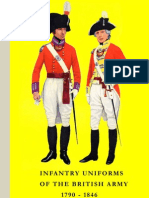 Infantry Uniforms of the British Army 1790-1846