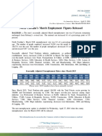 Mar 2016 State Employment Release