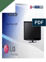 TV-LCD LG 42LH20 Manual de Entrenamiento