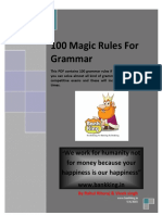 100 Rules of Grammar