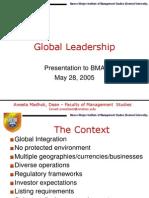 10 Global Leadership