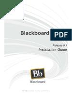 Blackboard Learn 9.1 Installation Guide - Versão Desactualizada!!!